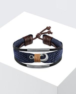 Blue Rude Cord Bracelet