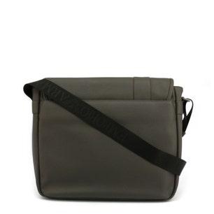 Leather Magnetic Flap Crossbody Bag