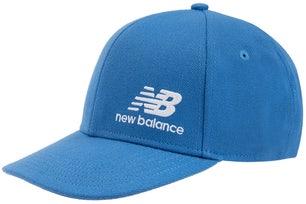 Blue Snapback Logo Cap