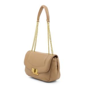Brown Chain Strap  Shoulder Bag