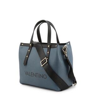 Blue Grande Zipper Handbag