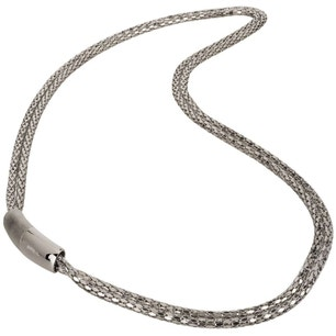 Plug In Light Stainless Steel Necklace