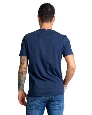 Round Neck Short Sleeve Logo T-shirt