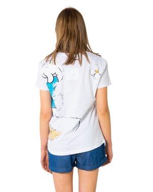 V-Neck Short Sleeve Disney T-shirt