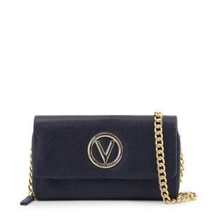 Navy Flap Chain Strap Clutch Bag