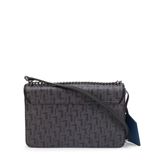 Violet Tone Small Chain Handle Clutch Bag