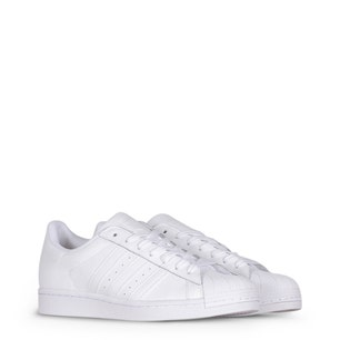 White Superstar Low Top Sneakers