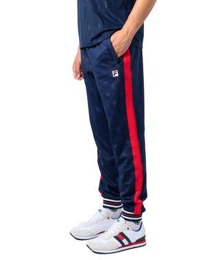 Elastic Waist Stripes Logo Trouser