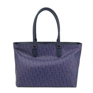 Blue Vaniglia 2 Handles Shopping Bag
