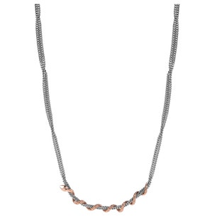 Stainless Steel Clam Chic Chain Necklace