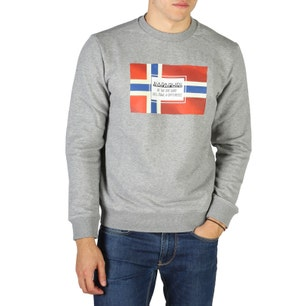 Grey Bera Logo Print Sweatshirt