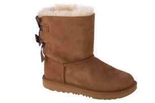 Brown Back Lace Bailey Bow II Winter Boots
