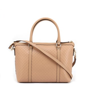 Leather Zipper Shoulder Strap Handbag