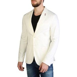Long Sleeve Collar Neck Button Blazer