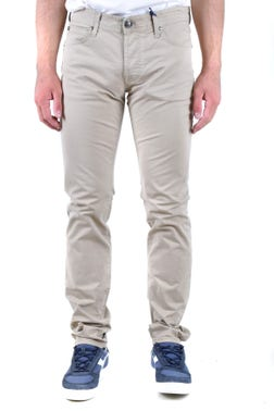Classic Button Zip Trousers