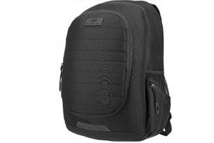 Black Plain Zipper Strap Waist Bag