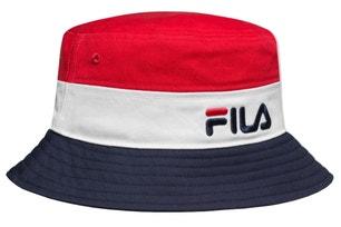 Blocked Bucket Logo Hat