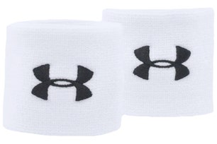 White Performance Wristbands
