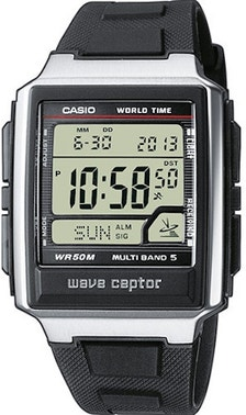 Resin Rubber Strap Square Digital Watch