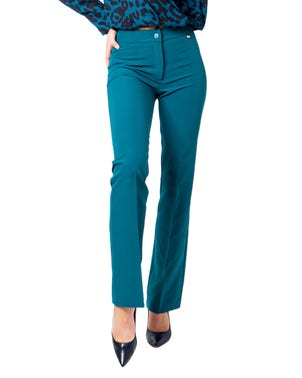Pocket  Button  Trousers