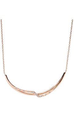 Rose Gold Collier Necklace