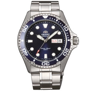 Blue Dial Divers Automatic Steel Watch