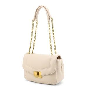 Beige Chain Strap  Shoulder Bag