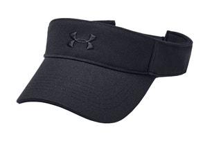 Black Logo Play Up Visor Cap
