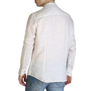 Brown Long Sleeve Button Classic Shirt