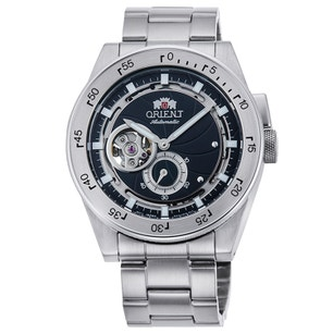Silver Mechanical Automatic Steel Strap Watch
