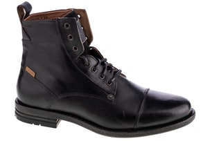 Leather Emerson Lace Hi Top Boots