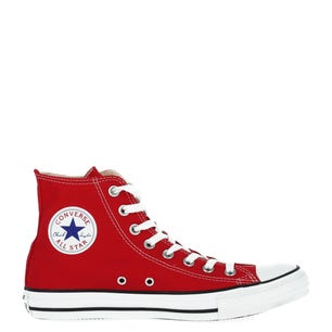 Red  All Star High Cut Lace Sneakers