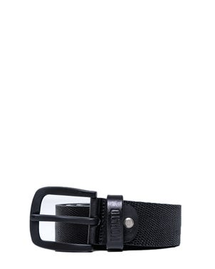 Leather Buckle Pin Belt