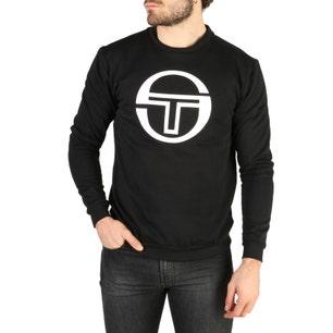 Black Graphic Logo Long Sleeve Sweatshirt