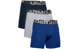 Blue 3 Packs Charged 6IN Boxer Trunks