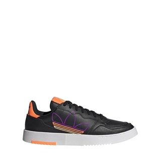 Black Supercourt Lace Up Sneakers