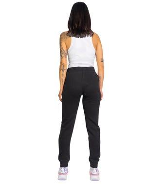 Elastic Waist Side Logo Trouser