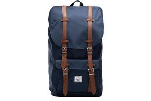 Blue Little America Zipper Backpack