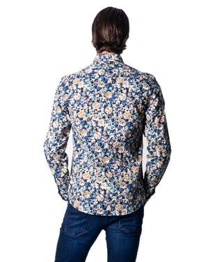 Long Sleeve Floral Shirt