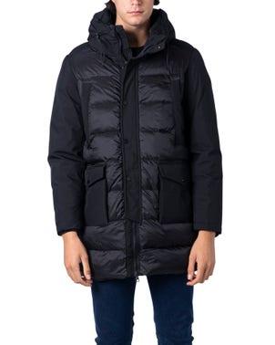 Hoodie Long Sleeve Zip Quilted Jacket