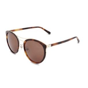 Round Eye Smoke Lens Sunglasses