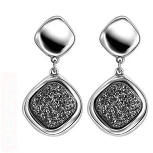 Moonrock Stainless Steel Earring
