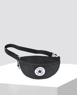 Black Sling Pack Messenger Bag