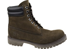 Brown Round Toe Leather 6-In Premium Boots