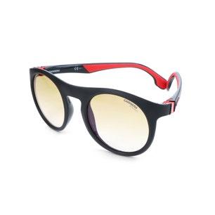 Black Round Rim Acetate Sunglasses