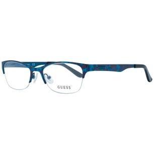 Blue Clubmaster Marble Eyeglass