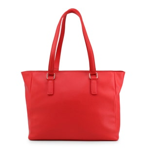 Rose Red Ramora Double Satchel Bag