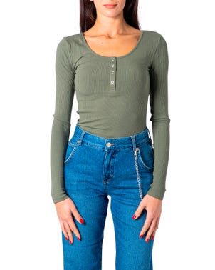 Green Kitte LS Top Noos BC Color T Shirt