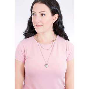 Kilos of Love Heart Stainless Steel Necklace