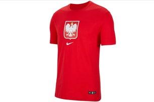 Red Poland Evergreen Crest T-shirt